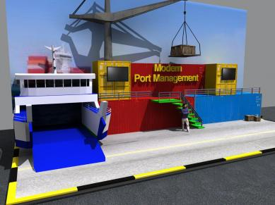 port management booth 2