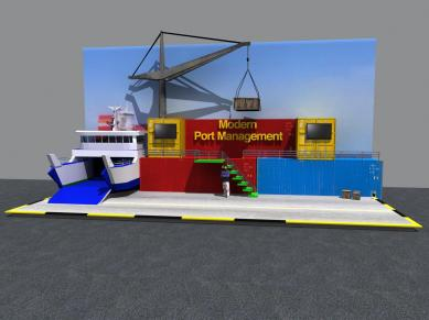 Port management booth